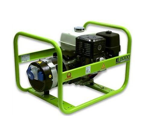 Бензиновый генератор (Бензогенератор) Pramac E8000, 230V, 50Hz