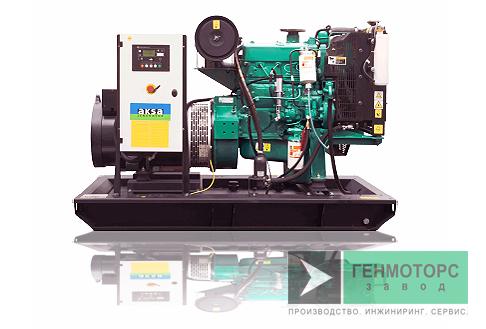 Дизельный генератор (электростанция) AKSA AC55