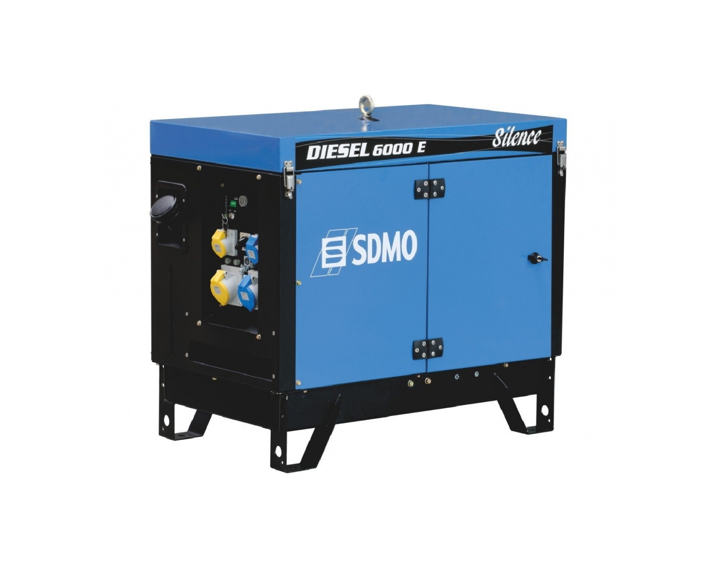 Дизельный генератор (электростанция) SDMO DIESEL 6000 E AVR SILENCE