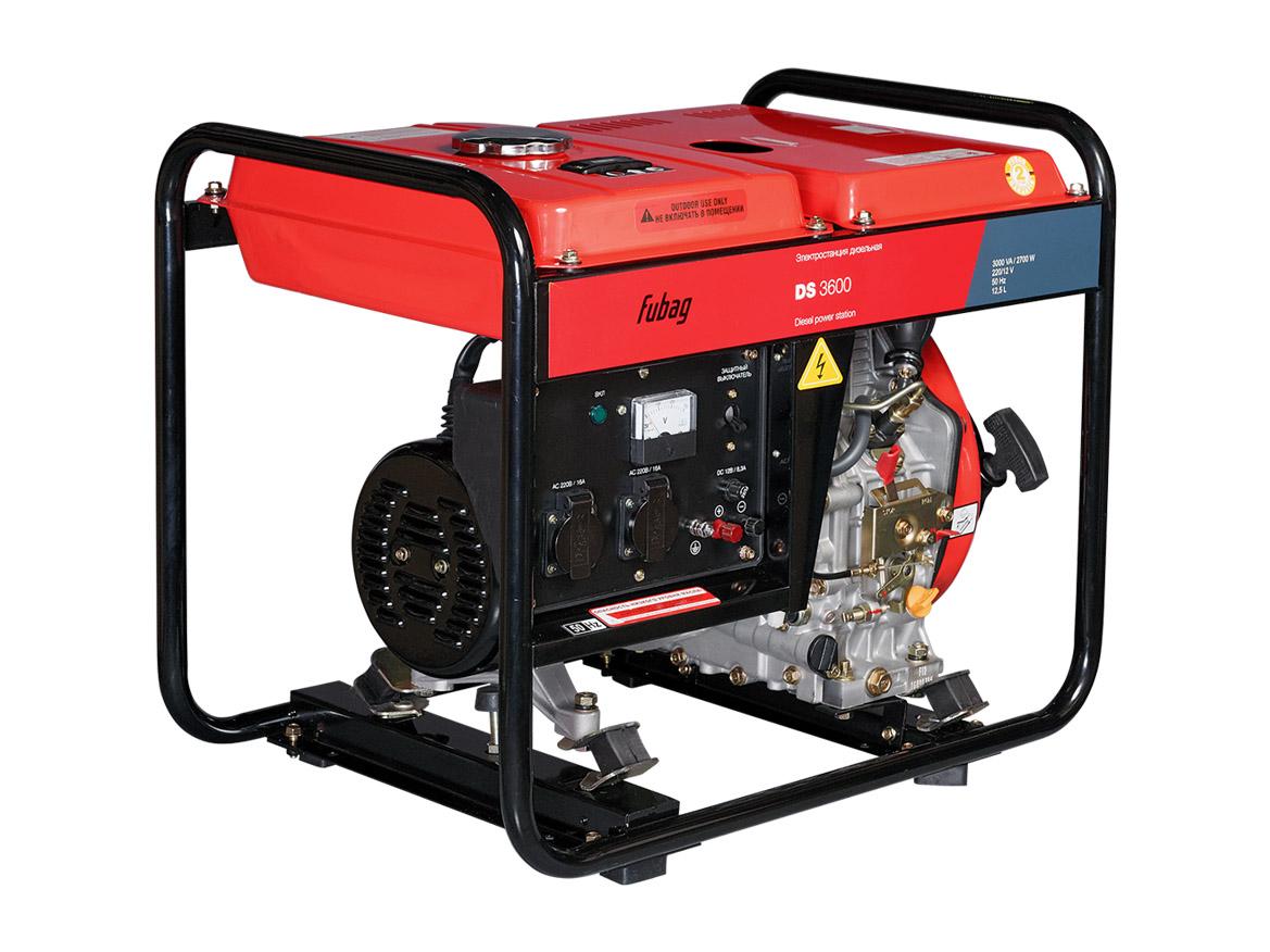 Дизельный генератор (электростанция) FUBAG DS 3600