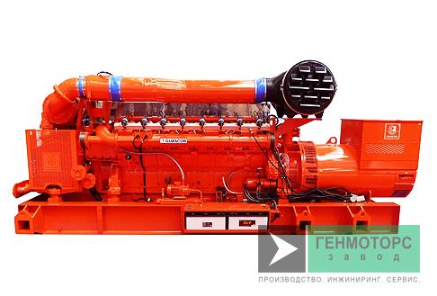 Газопоршневая электростанция (ГПУ) Guascor SFGLD560
