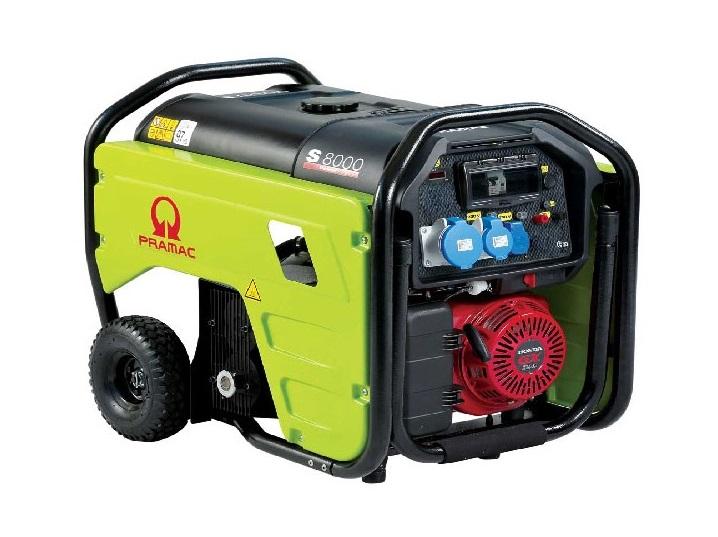 Бензиновый генератор (Бензогенератор) Pramac S8000, 400/230V, 50Hz #AVR #IPP