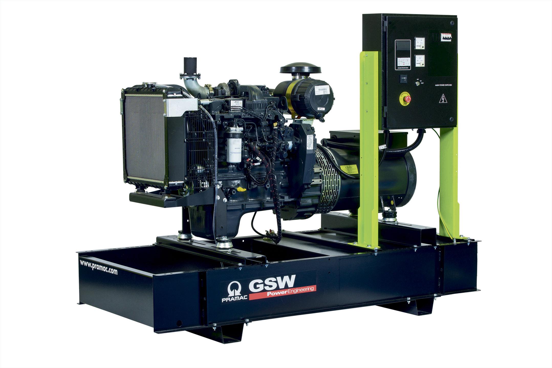 Дизельный генератор (электростанция) Pramac GSL65D