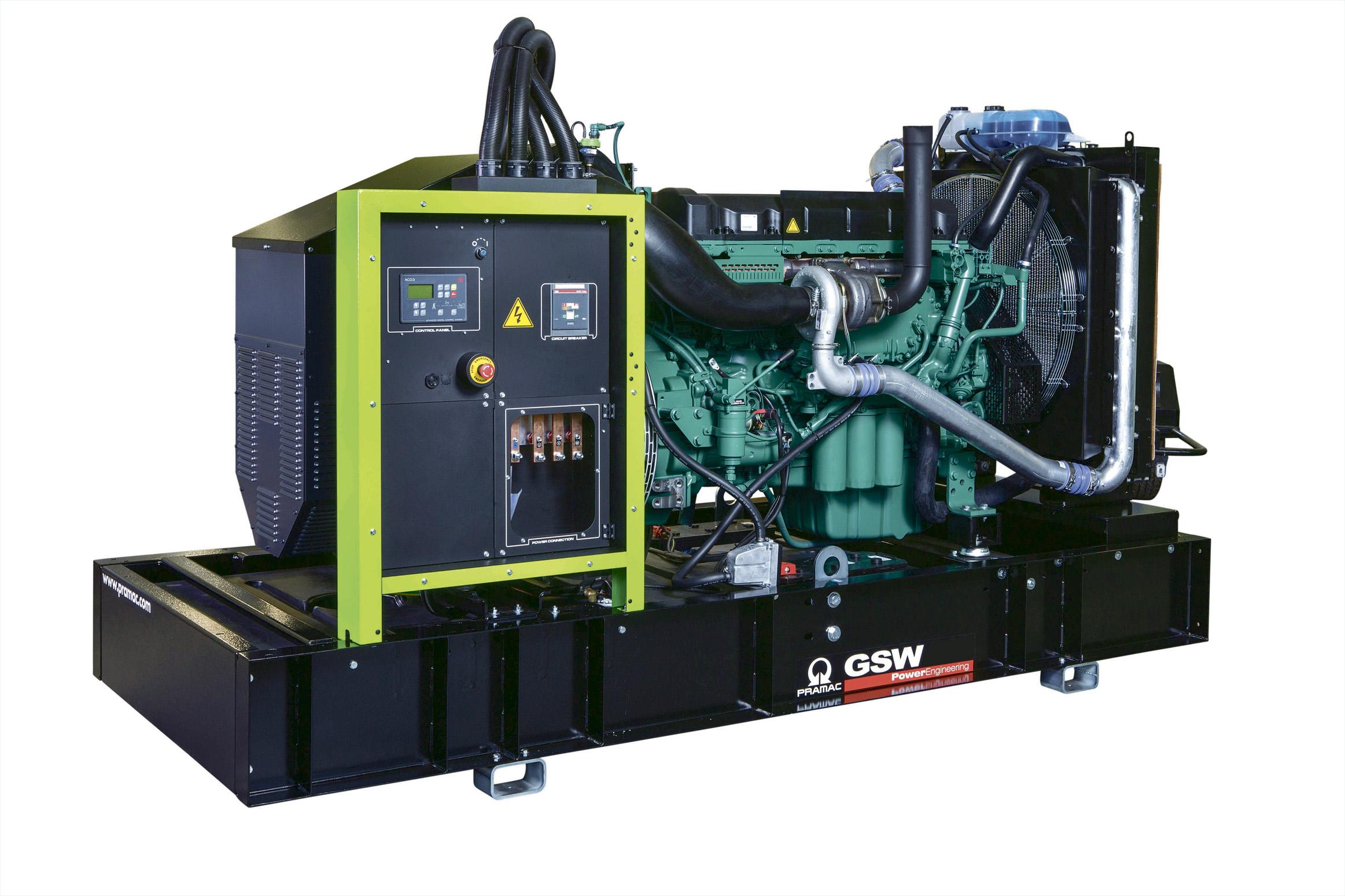 Дизельный генератор (электростанция) Pramac GSW460V
