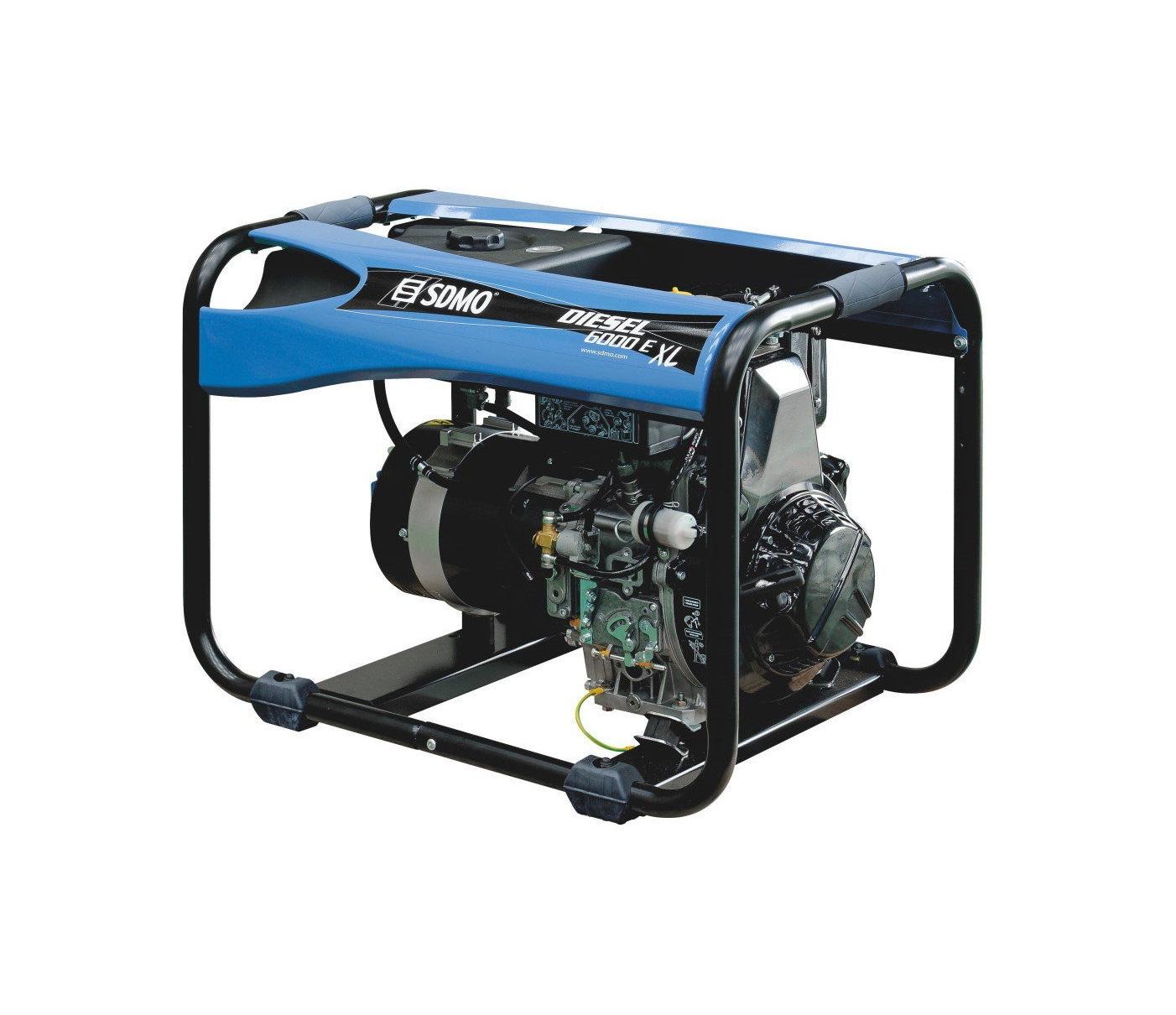 Дизельный генератор (электростанция) SDMO DIESEL 6000 E XL C M
