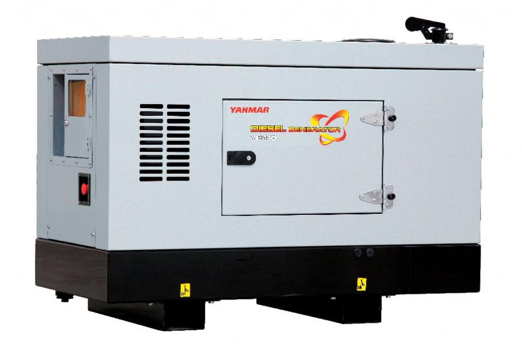 Дизельный генератор (электростанция) Yanmar YH170DSLS-5R