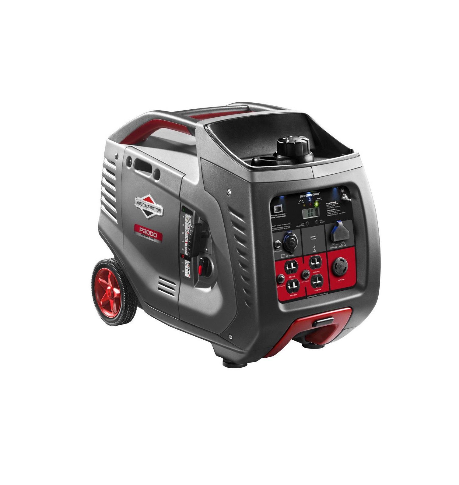 Бензиновый генератор (Бензогенератор) Briggs&Stratton P 3000 Inverter