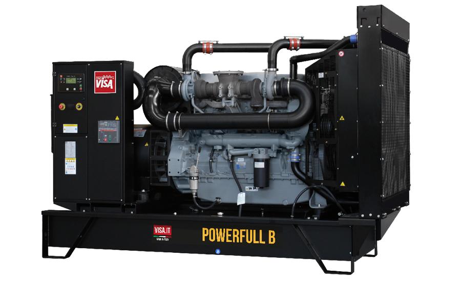 Дизельный генератор (электростанция) Onis Visa F400