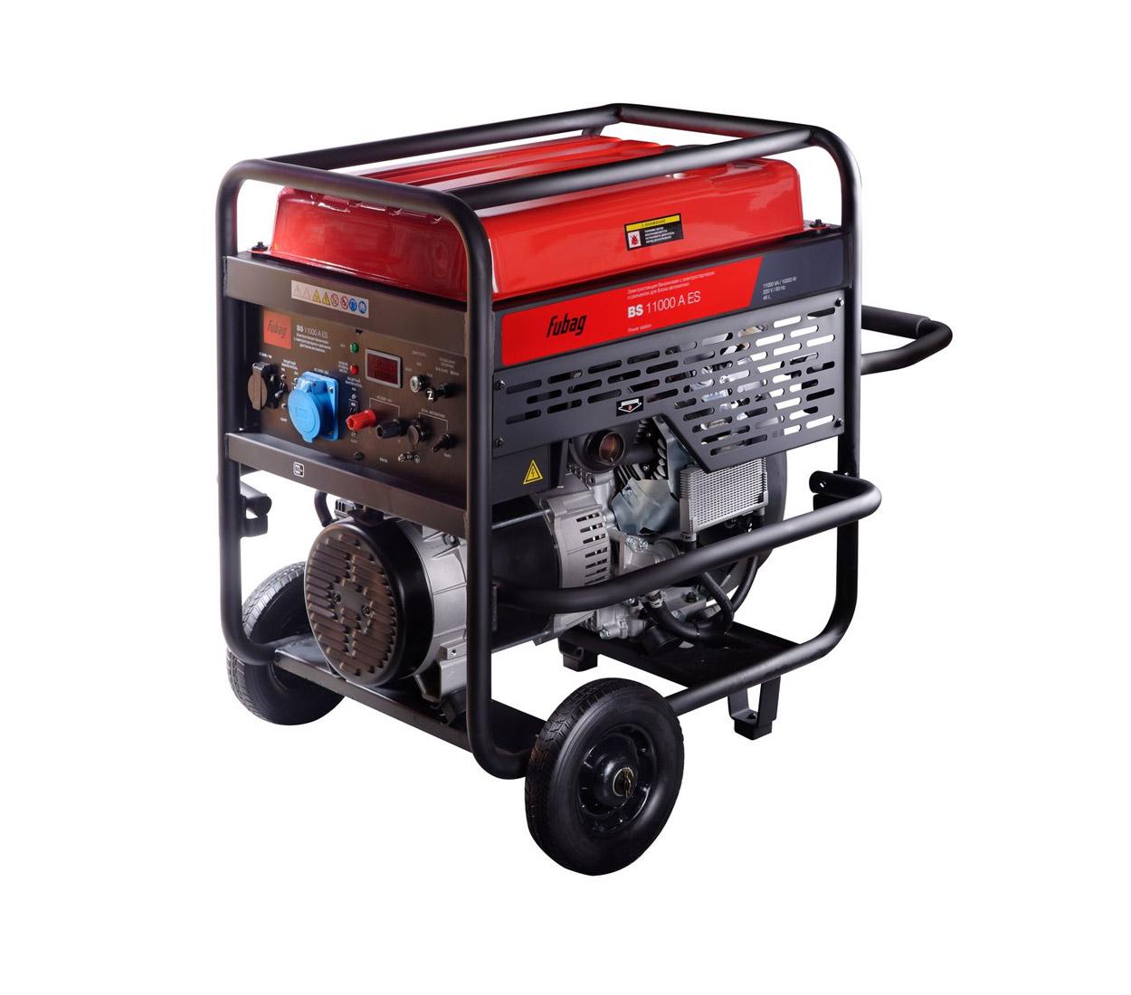 Бензиновый генератор (Бензогенератор) FUBAG BS 11000 A ES