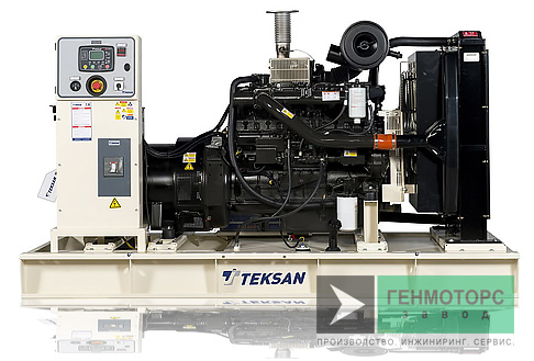 Дизельный генератор (электростанция) Teksan TJ198DW5C
