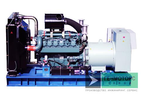 Дизельный генератор (электростанция) АД-600 Doosan