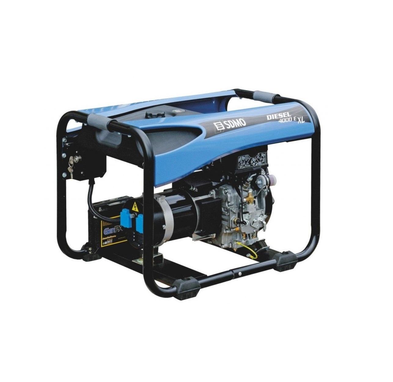Дизельный генератор (электростанция) SDMO DIESEL 4000 E XL C